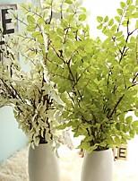 1 Piece 1 Branch Plastic Plants Tabletop Flower Artificial Flowers
