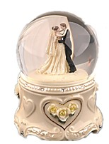 Balls Music Box Toys Circular Crystal Ceramic Pieces Unisex Gift