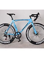 Cruiser Bike Cycling 7 Speed 26 Inch/700CC SHIMANO TX30 Disc Brake Non-Damping Aluminium Alloy Frame Anti-slip Aluminum Alloy