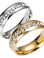 Муж. Жен. Классические кольца Мода Нержавеющая сталь Бижутерия Бижутерия Назначение Повседневные