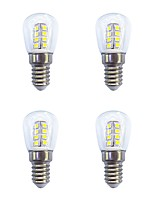 4 PCS 2W E14 LED Globe Bulbs 26 leds SMD 2835 Warm White White 160lm 3000-6500K AC 220-240V