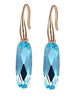 Women's Drop Earrings AAA Cubic Zirconia Bohemian Gold Plated Drop Jewelry For Party Birthday Daily Office & Career