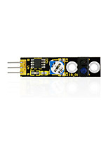 module de capteur de suivi de ligne keyestudio détecteur de ligne blanc / noir pour arduino uno r3 mega 2560 r3