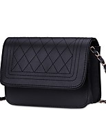 Women Bags All Seasons PU Shoulder Bag Ruffles for Casual Office & Career White Black Beige