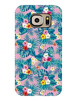 For Case Cover Pattern Back Cover Case Flower Tree Soft TPU for Samsung Galaxy S8 Plus S8 S7 edge S7 S6 edge plus S6 edge S6 S6 Active S5