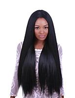 Women Human Hair Lace Wig Glueless Lace Front 130% Density Straight Wigs Brazilian Hair Black Short Medium Long Natural Hairline