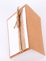Cord Flax Cardboard Wedding Decorations-1 Piece