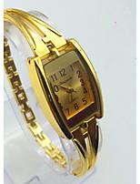Per donna Orologio alla moda Orologio braccialetto Orologio casual Cinese Quarzo Lega Banda Vintage Casual Oro