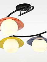 Led quarto sala de jantar quarto infantil estufa teto lâmpada lâmpada pingente de vidro
