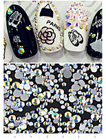 300 Nail Art Decoration Rhinestone Pearls Makeup Cosmetic Nail Art Design