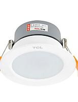 1Pc 5W Led Downlight Celing Light Warm Yellow/Warm White/White AC220V Size Hole 95mm 3000/4000/6000K