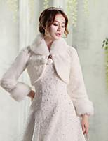 Women's Wrap Shrugs Faux Fur Wedding Party/ Evening