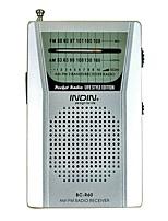 BC-R60 Rádio portátil Prata