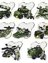Kit fai-da-te Costruzioni Camion militare Giocattoli Carro armato Autovetture Militare Classico Nuovo design Per adulto Pezzi