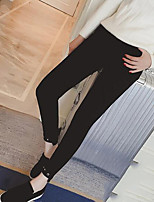 Women's Medium Solid Color Legging,Solid