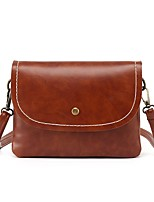 Women Bags All Seasons PU Shoulder Bag Buttons for Casual Office & Career Black Red Gray Maroon Brown