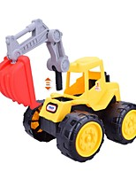 Vehicle Wheel Excavator Excavating Machinery Vehicles Simple Kids 1