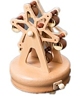 Music Box Toys Famous buildings Horse Carousel Wood Pieces Unisex Birthday Gift