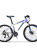 Mountain Bike Cycling 21 Speed 26 Inch/700CC SHIMANO Disc Brake Suspension Fork Aluminium Alloy Frame Anti-slip Aluminum Alloy
