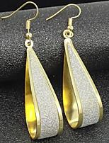 Women's Hoop Earrings Basic Alloy Jewelry For Daily Date
