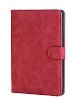 solide boîtier rétro en cuir style pu avec support pour support média huawei m2 10.0-a01w / l tablette 10.1 pouces