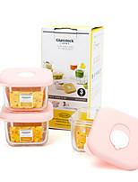 3 Kitchen Glass Food Storage