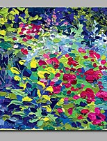 Petal 100% Hand Painted Contemporary Oil Paintings Modern Artwork Wall Art for Room Decoration