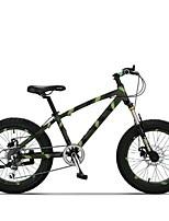 Mountain Bike Cycling 7 Speed 20 Inch TX30 Double Disc Brake Suspension Fork Aluminium Alloy Frame Ordinary/Standard Anti-slipAluminum