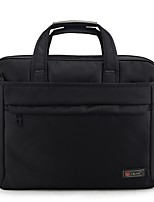 Unisex Bags All Seasons Oxford Cloth Briefcase Zipper for Office & Career Black