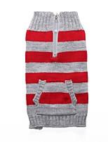 Chat Chien Manteaux Pull Vêtements pour Chien Soirée Décontracté / Quotidien Cosplay Garder au chaud Mariage Halloween Noël Nouvel An