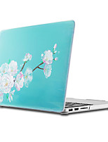cheap -MacBook Case for MacBook Air 13-inch Macbook Air 11-inch MacBook Pro 13-inch with Retina display Flower TPU Material