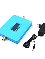 Intelligent Display GSM 900mhz DCS 1800mhz Mobile Phone Signal Booster 2G 4G Signal Repeater with Power Supply / Blue / Mini / Dual Band