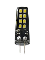 1pc 3W G4 LED Bi-pin Lights T 16 leds SMD 2835 Decorative Warm White White 200lm 3000-3500  6000-6500K DC 12V