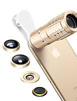 senbowe smartphone kameraobjektive 0.36x weitwinkelobjektiv 15x makroobjektiv 10x teleskopobjektiv fischaugenobjektiv cpl für ipad iphone