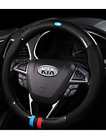 Automotive Steering Wheel Covers(Carbon Fiber)For Kia All years All Models