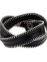 Men's Women's Leather Bracelet Fashion Personalized Leather Round Jewelry For Casual Going out