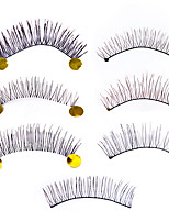 Eyelashes lash Full Strip Lashes Women Lady Eye Daily Eyes Eyelash Universal Holiday Crisscross Thick Natural Long Lengthens the End of