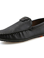 Men's Shoes PU Spring Fall Comfort Light Soles Loafers & Slip-Ons For Casual Office & Career Khaki Brown Black