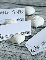 4pcs/lot Natural Seashells Card Holder -Random Size Shipment - Beter Gifts® Party Decoration