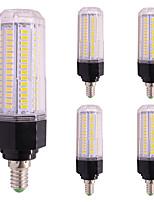 5pcs 12W Ampoules Maïs LED T 126 diodes électroluminescentes SMD 5730 Blanc Chaud Blanc Froid 1000lm 2800-3500;5000-6500