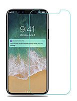 cheap -Tempered Glass Screen Protector for Apple iPhone X Front Screen Protector High Definition (HD) 9H Hardness Anti-Fingerprint 3D Curved edge