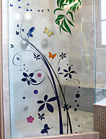 Art Deco Window Sticker,PVC/Vinyl Material Window Decoration