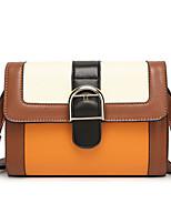 Women Bags All Seasons PU Shoulder Bag Rivet for Outdoor Office & Career Brown Khaki