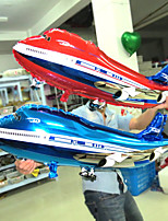 2Pcs/Lot Aircraft Aluminum Balloons for Birthday Holiday Party Decorations