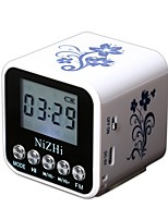 NIZHI TT-032A Mini Style # USB Outdoor Speaker White