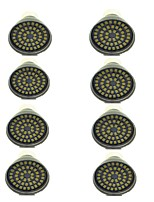8 pcs 3W GU10 LED Spotlight 48 leds SMD 2835 Decorative Warm White Cold White 500lm 3000-7000K AC 12V