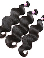 cheap -Peruvian Wavy Human Hair Weaves 3pcs 3 Pieces 0.3
