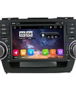 2 din capacitive touch lcd dvd player android 6.0 para toyota highlander2008-2012
