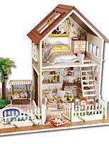 DIY KIT Music Box Toys House Plastics Wooden 1 Pieces Not Specified Birthday Valentine's Day Gift