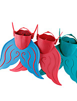 Pinne Pinne per immersione Grandezza regolabile Rilascio rapido Sirena Sub e immersioni PP per Per donna Da ragazza
